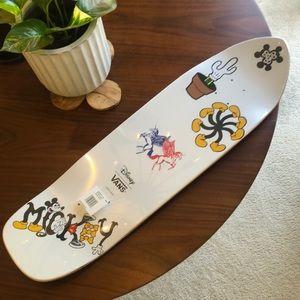 Disney x Vans skateboard skate deck